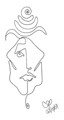 Line Drawing Picasso Tattoo : Art tips from artsupply single line drawings