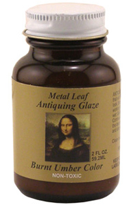 Mona Lisa Gold Leaf Red Base Coat- Waterbased 2oz
