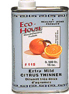 Eco House Natural Orange Terpene Solvent