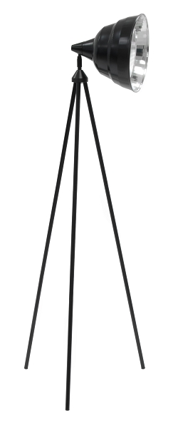 Studio Designs Photography Lamp with Stand Black
