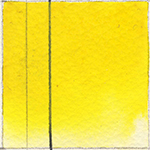 QoR Watercolors 11 ml. Tube  Hansa Yellow Medium