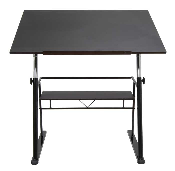 Studio Design Zenith Drafting Table Black