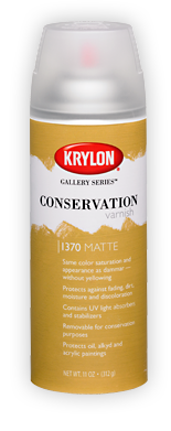 Krylon Conservation Varnish Matte Spray 11 oz Can