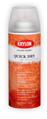 Krylon Quick Dry For Oil Paintings Spray 11 oz Can