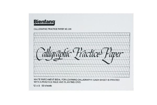 Calligraphy practice pad alvin pens markers