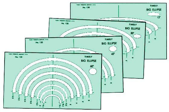 Template Big Ellipse Set-4