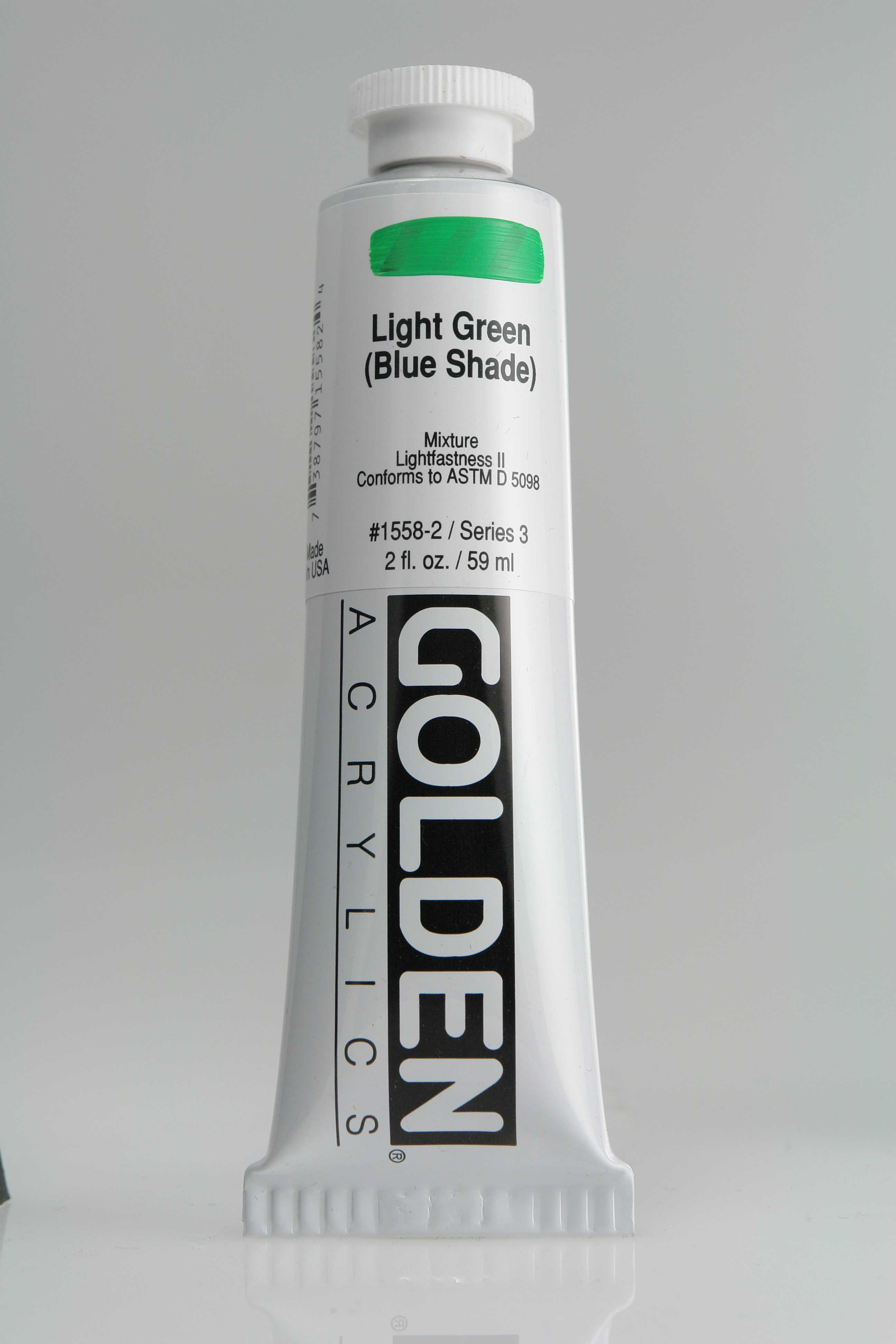 Light Green B.S. 2 oz Golden Acrylic