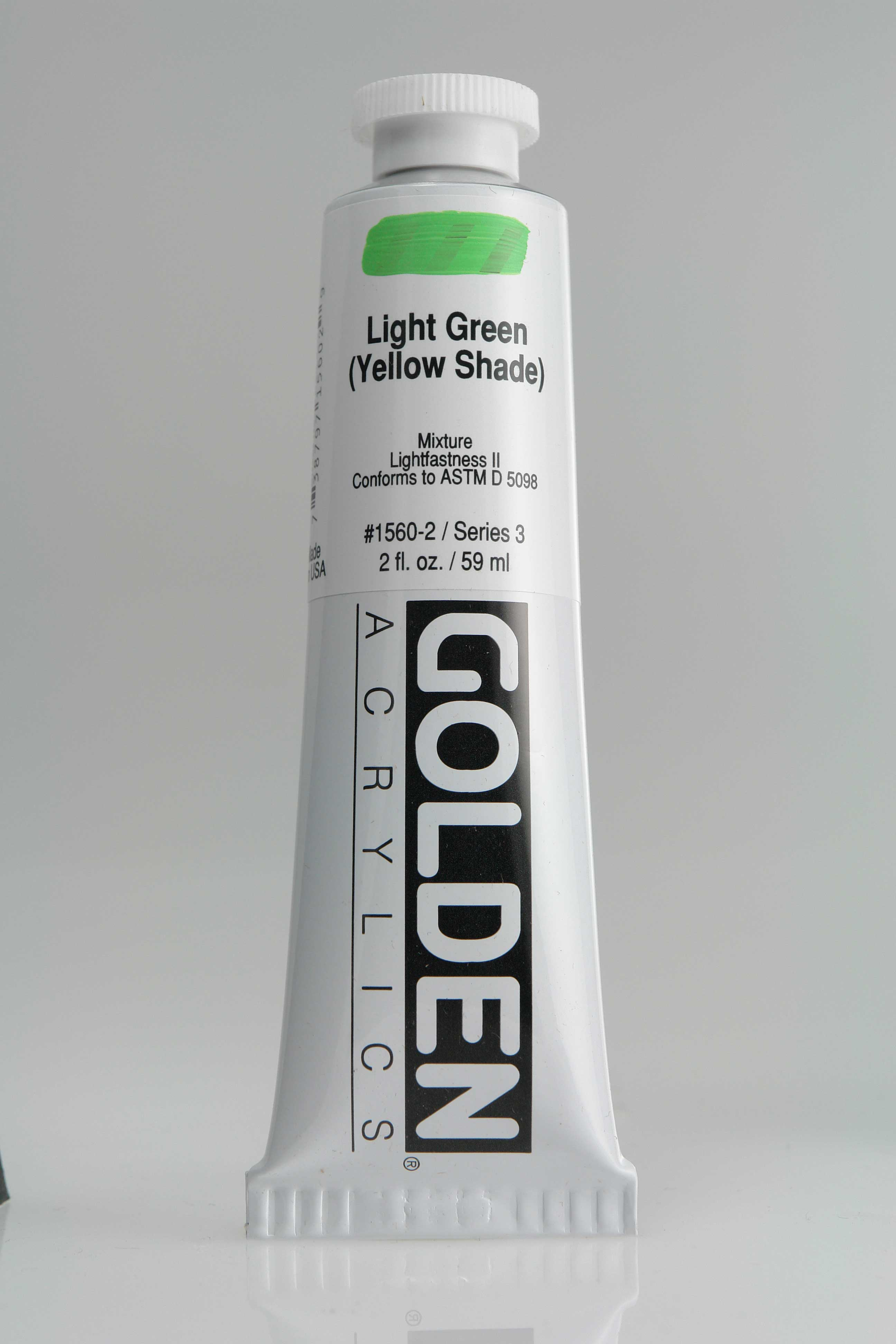 Light Green Y.S. 2 oz Golden Acrylic