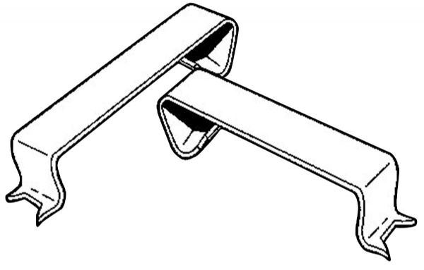 Moore Clip-It Frame Clips