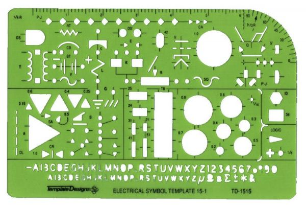 Template Electrical-Electronic TD1515