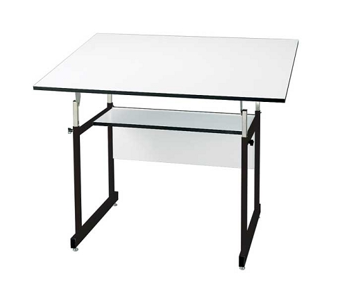 Alvin Drafting Table Workmaster Jr Black With 36X48 Top