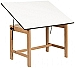 Alvin Drafting Table Titan Wood Table 31X42X30 No Drawer