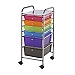 Blue Hills Studio 6 Drawer Multi Colored Cart
