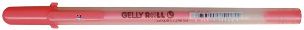 Gelly Roll MoonLight Fluorescent Vermilion Gel Pen