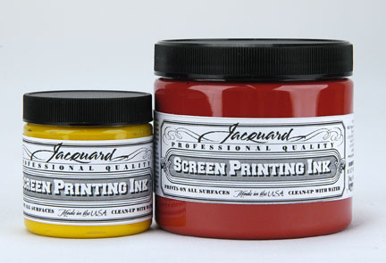 Jacquard 16oz Screen Printing Inks no.116 Brown