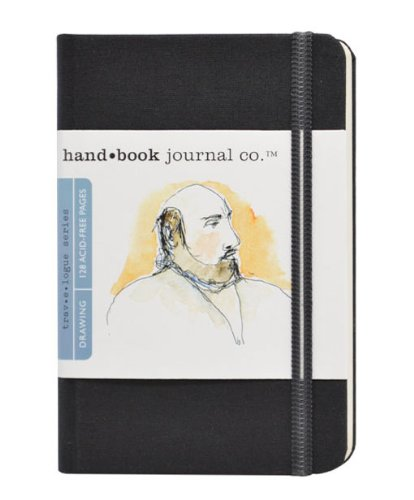 Handbook Journal Co Ivory Black 5 5 X3 5 Pocket Portrait
