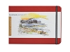 Handbook Journal Co Vermillion Red 5.5.x8.25 Large Landscape Drawing Book