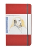 Handbook Journal Co Vermillion Red 8.25x5.5 Large Portrait Drawing Book