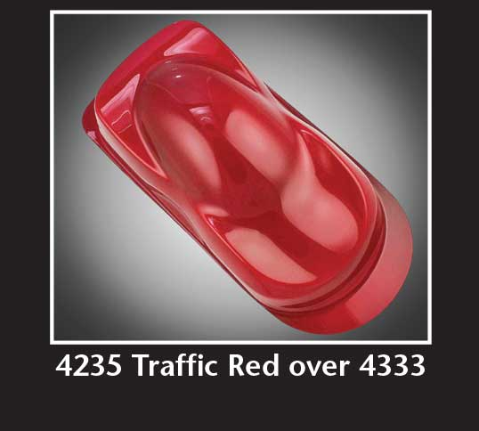 16oz. Createx Auto Air Transparent Traffic Red