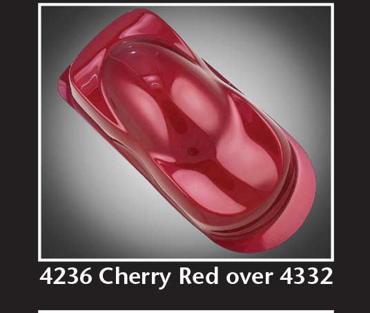 32oz. Createx Auto Air Transparent Cherry Red