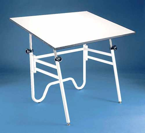Alvin Drafting Table Opal Black Base 24X36 Top