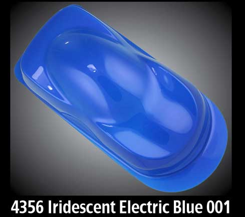 4oz. Createx Auto Air Iridescent Electric Blue