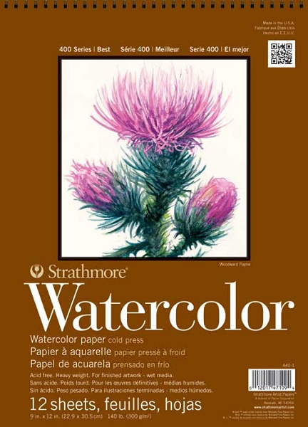 Stratmore 400 Series Watercolor Pads 12 X 18