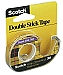 Scotch Double Stick Tape 1/2Inch X250 Inch