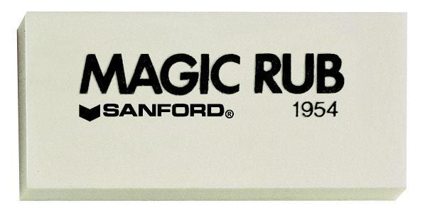 Eraser Magic Rub Drawing Erasers Sanford Art Supply Com