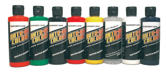 Auto AirSparklescent Colors 4oz. Set