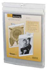 Self Sealing Photo Art Bag 100 Pack 4in. X 6in.