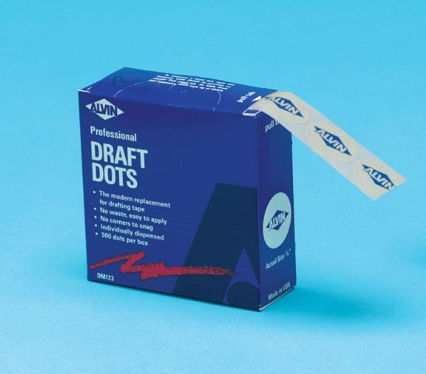 Drafting Dots-500 Roll