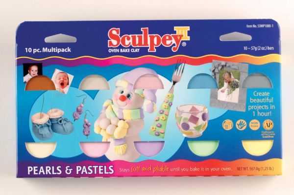 Sculpey Multipack Pearls 10Pc