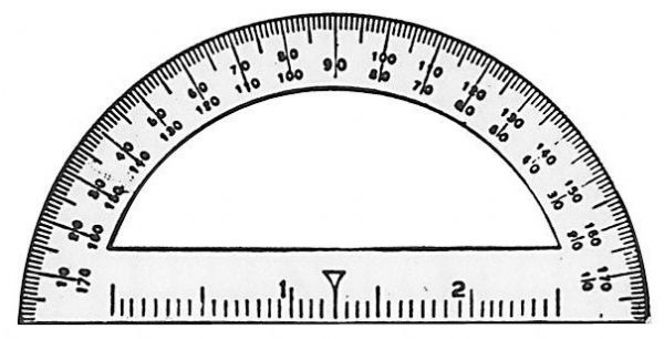 Protractor 3 1-2 Inch Student
