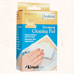 Lineco Document Cleaning Pad