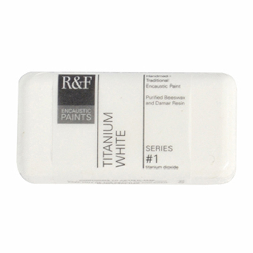 40ml R&F Encaustic Titanium White