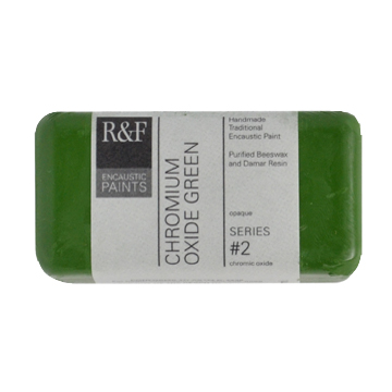 40ml R&F Encaustic Chrome Oxide