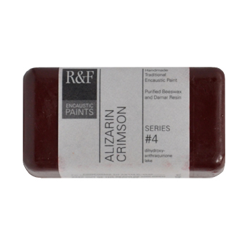 40ml R&F Encaustic Alizarin Crimson