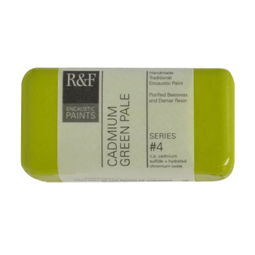 40ml R&F Encaustic Cadmium Green Pale