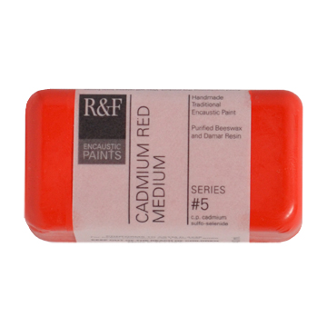 40ml R&F Encaustic Cadmium Red Med