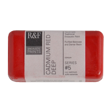 40ml R&F Encaustic Cadmium Red Deep