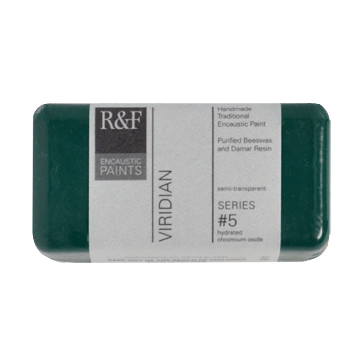 40ml R&F Encaustic Viridian