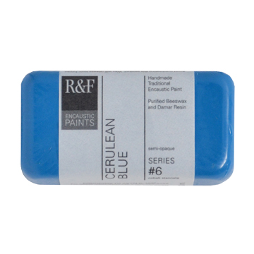 40ml R&F Encaustic Cerulean Blue