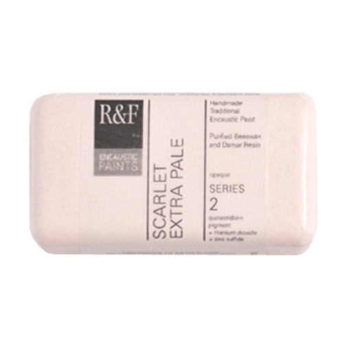 40ml R&F Encaustic Scarlet Extra Pale