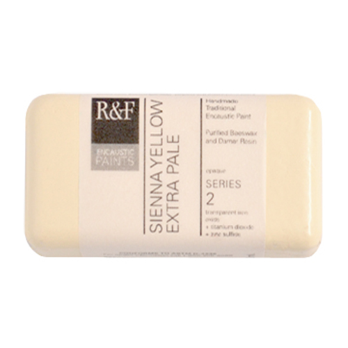 40ml R&F Encaustic Sienna Yellow XPale