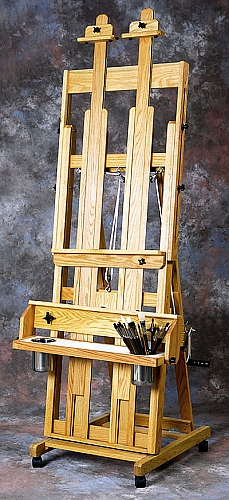 Classic Santa Fe II Oak Studio Easel by BEST