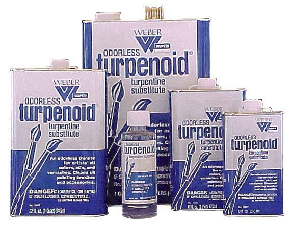 Turpenoid Odorless 4 oz