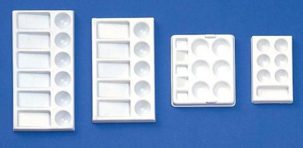 Palette Plastic Rectangle 9X4.75