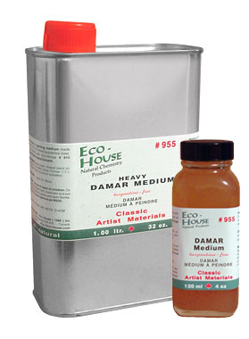 Damar Painting Medium Heavy 4oz And Other Sizes