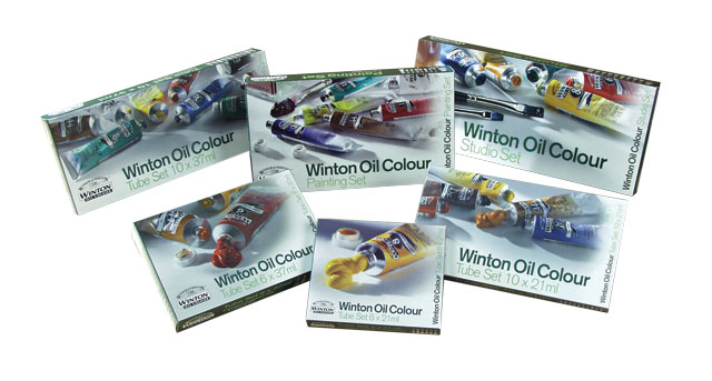 Winton Oil Paint 37 ml--Intro Set 6 X 21 ml